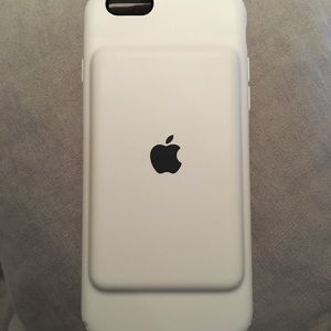 Accessories - Apple iPhone 6s white charging case